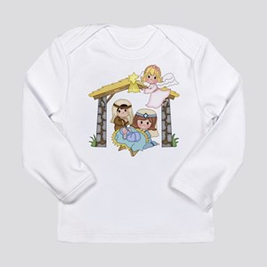 Childrens Nativity Long Sleeve T-Shirt
