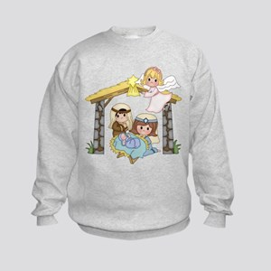 Childrens Nativity Sweatshirt