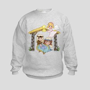Childrens Nativity Sweatshirt