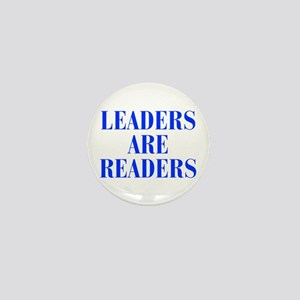 leaders-are-readers-BOD-BLUE Mini Button