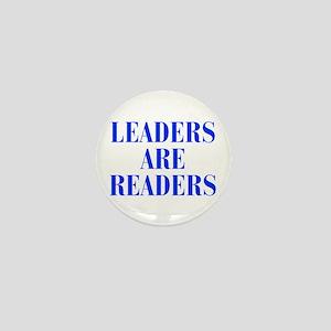 leaders-are-readers-BOD-BLUE Mini Button