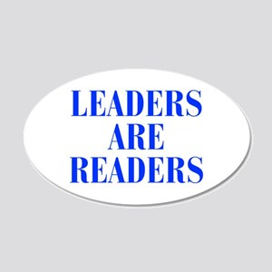 leaders-are-readers-BOD-BLUE Wall Decal