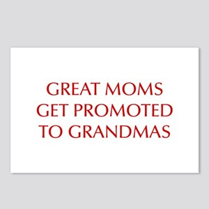 great-moms-OPT-RED Postcards (Package of 8)