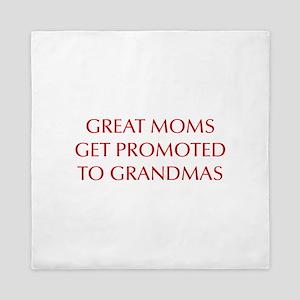great-moms-OPT-RED Queen Duvet