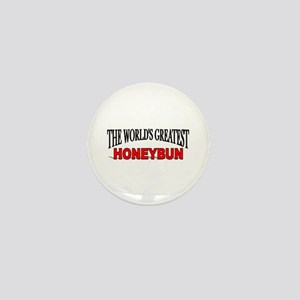 """The World's Greatest Honeybun"" Mini Button"