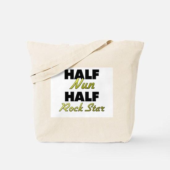 Half Nun Half Rock Star Tote Bag