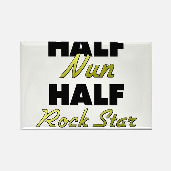 Half Nun Half Rock Star Magnets