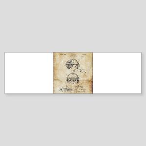 1940 Welders Goggles - Patent Bumper Sticker