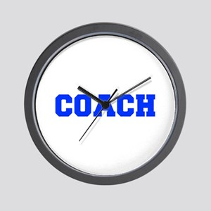 COACH-FRESH-BLUE Wall Clock
