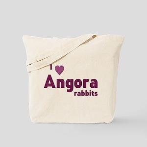 Angora rabbit Tote Bag