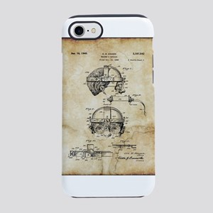 1940 Welders Goggles - Patent iPhone 7 Tough Case