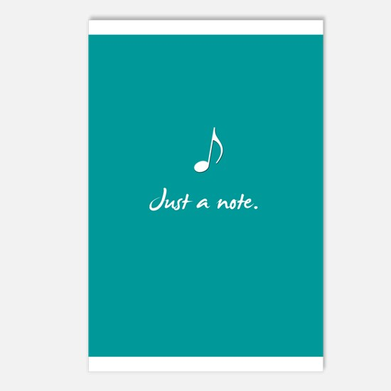 Just a note. Postcards (Package of 8)