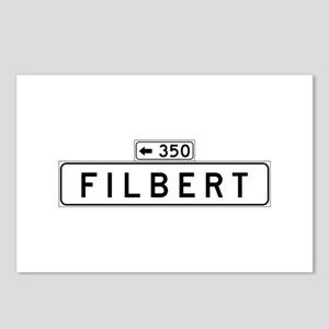 Filbert Street, San Francisco - USA Postcards (Pac