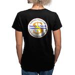 Français-SI-CUC Women's V-Neck Dark T-Shirt