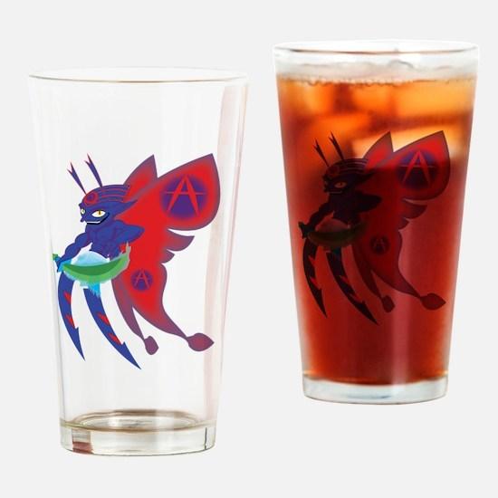 Anarchy Imp Drinking Glass