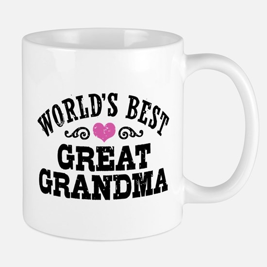 World's Best Great Grandma Mug