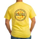 Français-SI-CUC Yellow T-Shirt