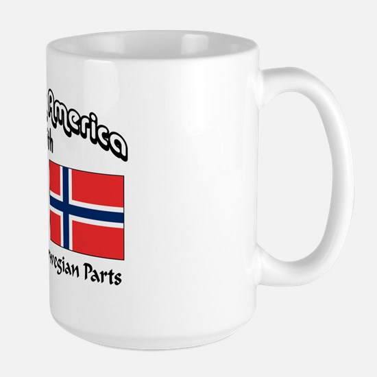 Irish & Norwegian Parts Large Mug