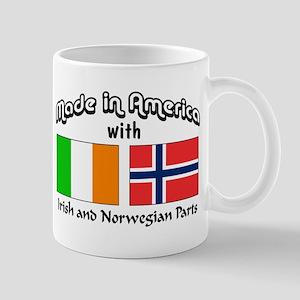 Irish & Norwegian Parts Mug
