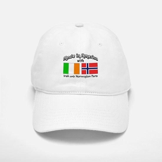 Irish & Norwegian Parts Baseball Baseball Cap