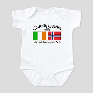 Irish & Norwegian Parts Infant Bodysuit