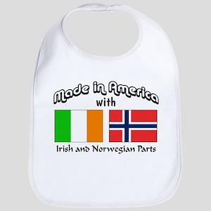 Irish & Norwegian Parts Bib