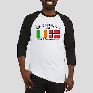 Irish & Norwegian Parts Baseball Jersey