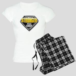 Stronger than cancer Women's Light Pajamas