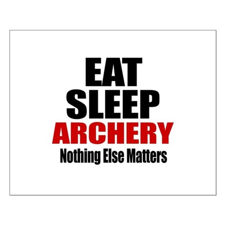 Eat Sleep Archery Small Poster