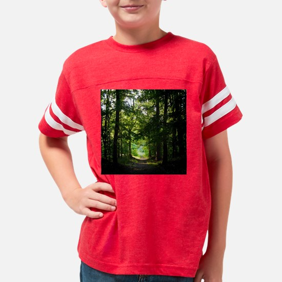 Cute Nature Youth Football Shirt