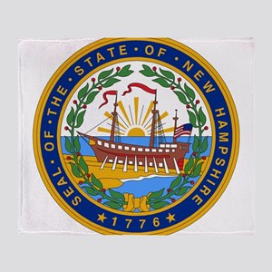 New Hampshire Throw Blanket