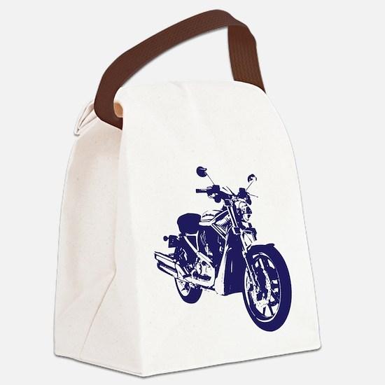 Motorcycle - Biker Canvas Lunch Bag
