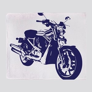 Motorcycle - Biker Throw Blanket