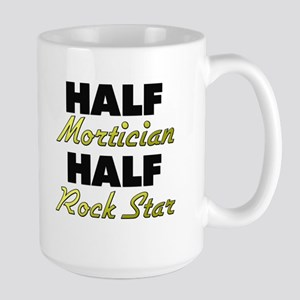 Half Mortician Half Rock Star Mugs