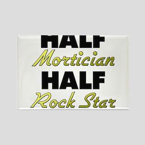 Half Mortician Half Rock Star Magnets