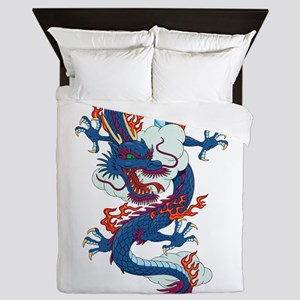 Dragon - Fantasy - Anime Queen Duvet