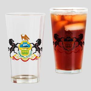 Pennsylvania Drinking Glass