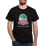 Sanibel Oval -Black T-Shirt