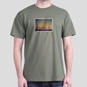 """""""Manhattan Skyline"""" Dark T-Shirt"""