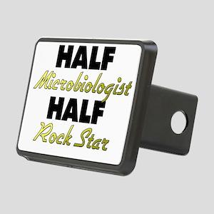 Half Microbiologist Half Rock Star Hitch Cover