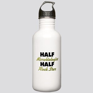 Half Microbiologist Half Rock Star Water Bottle