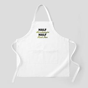 Half Microbiologist Half Rock Star Apron