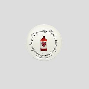 prescription for love PT Mini Button