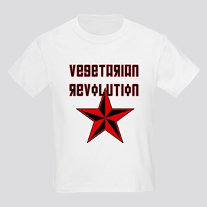 Vegetarian Revolution Kids T-Shirt