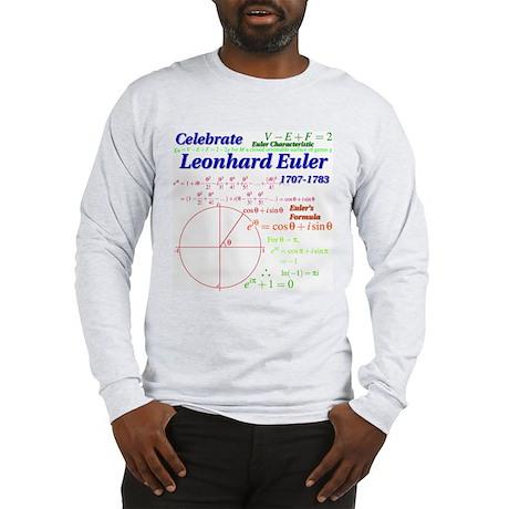 Celebrate Euler Long Sleeve T-Shirt