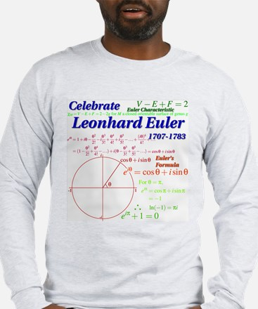 Celebrate Euler Long Sleeve T-Shirt