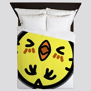Funny Chicken Queen Duvet