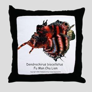 Fu Man Chu Lion Throw Pillow