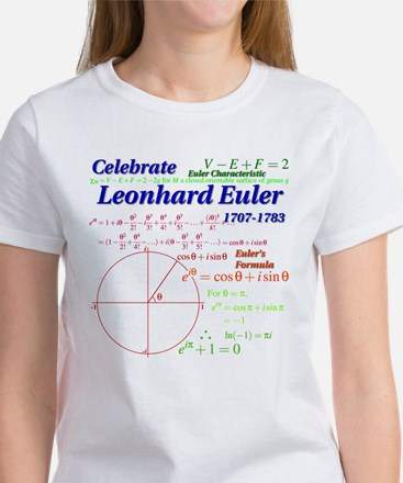 Celebrate Euler Women's T-Shirt