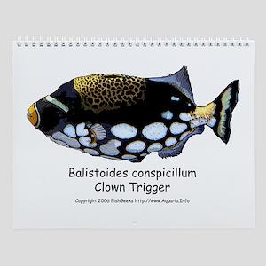FishGeeks Saltwater Fish Calendar